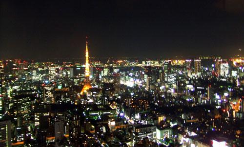 ザ・リッツ・カールトン東京 50階より