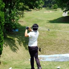 ゴルフレッスン